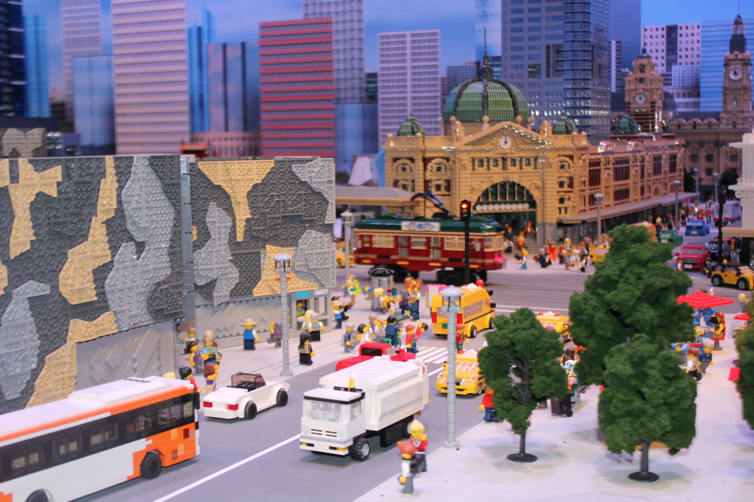 There's a huge new Lego centre in Melbourne