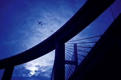Under the bridge: Park Island photo spot