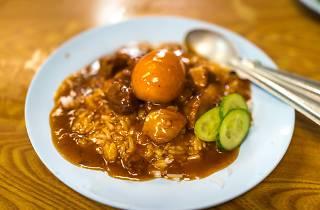 Maha Sanook pork with rice