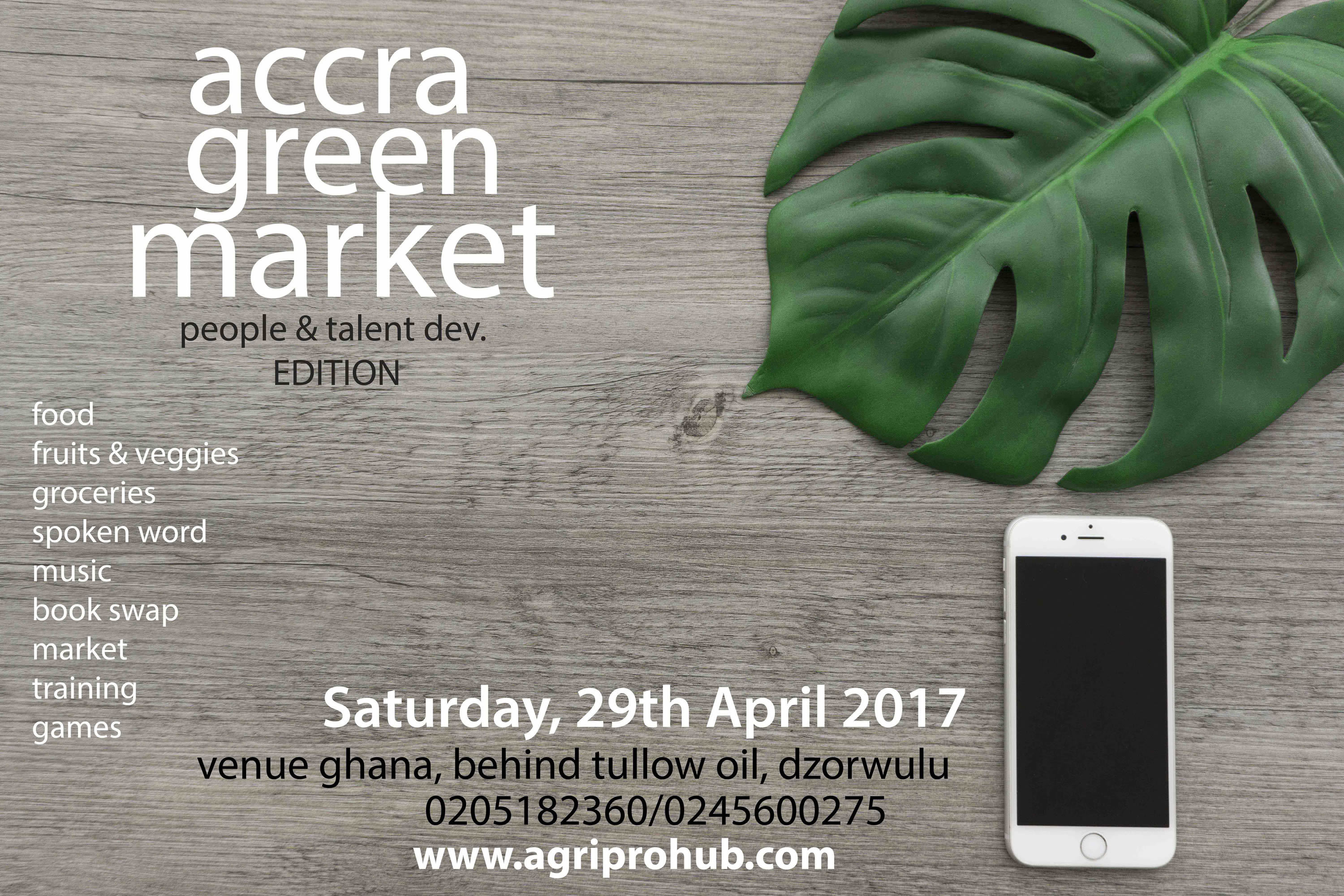 Accra Green Market April 29