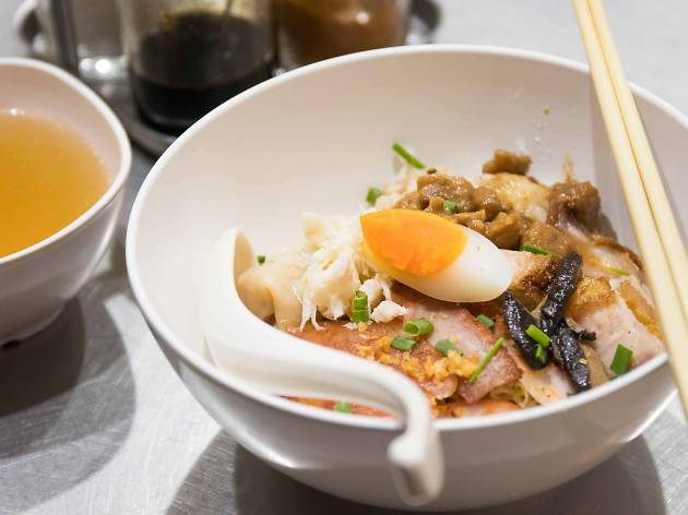 Best egg noodles in Bangkok