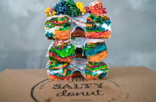 Salty Donut Unicorn Doughnut