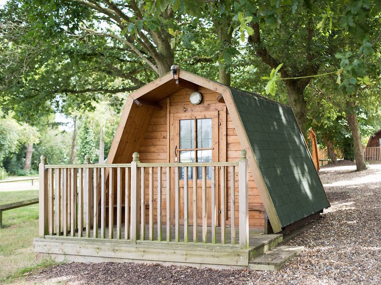 Lee Valley Campsite, Essex