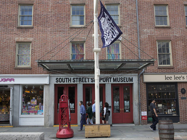 Shot on assignment for the South Street Seaport Museum on Monday May 23, 2016.