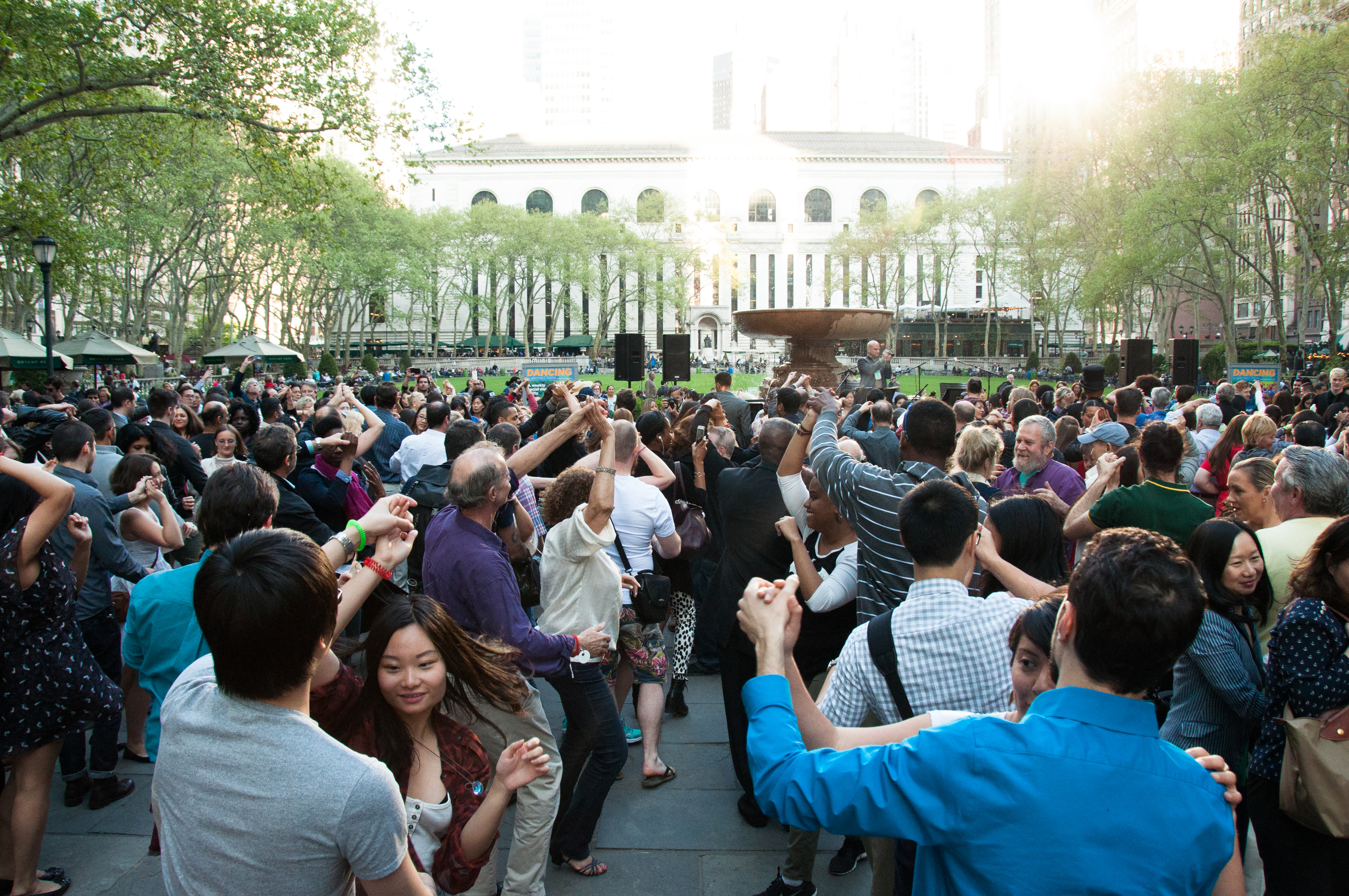 Bryant Park's epic outdoor dance parties are back next month