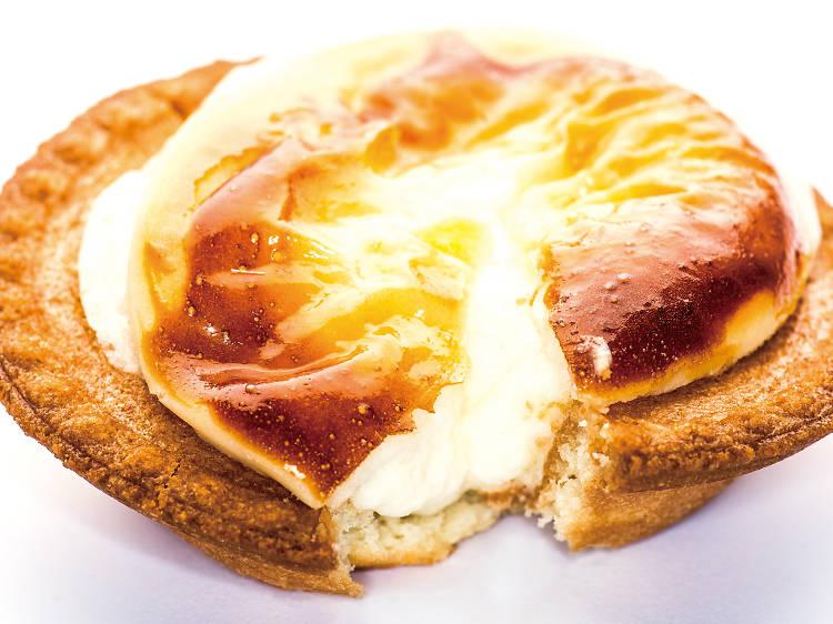 Baked cheese tart at Bake
