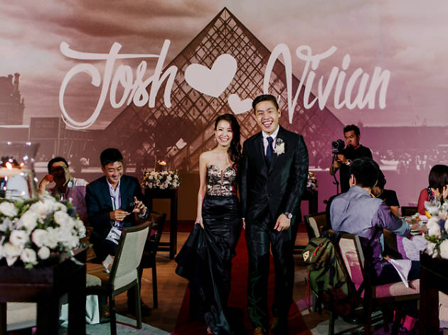 Make your wedding wishes come true at Grand Hyatt Singapore