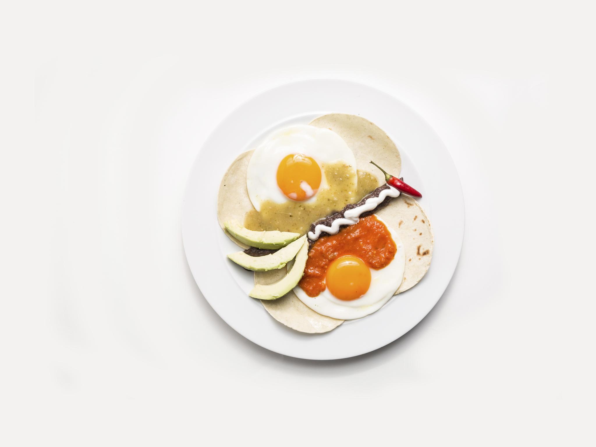 Mez Cais - Huevos divorciados mexicanos