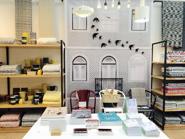La célèbre boutique A Vida Portuguesa s'installe un mois à la Trésorerie