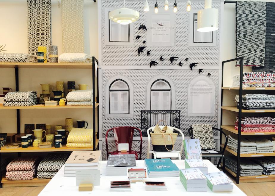 La célèbre boutique A Vida Portuguesa s'installe à la Trésorerie