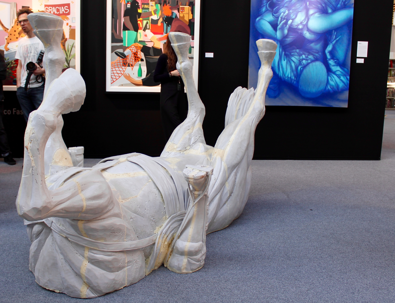 Tour des curiosités croisées à l'Urban Art Fair 2017