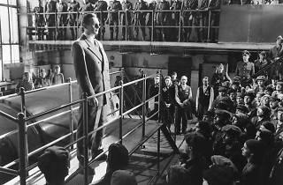 Escena de la película La lista de Schindler