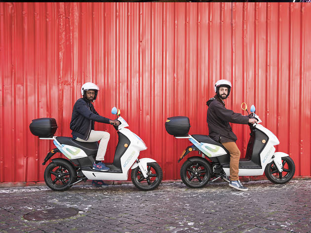 eCooltra: Scooters para partilhar na cidade