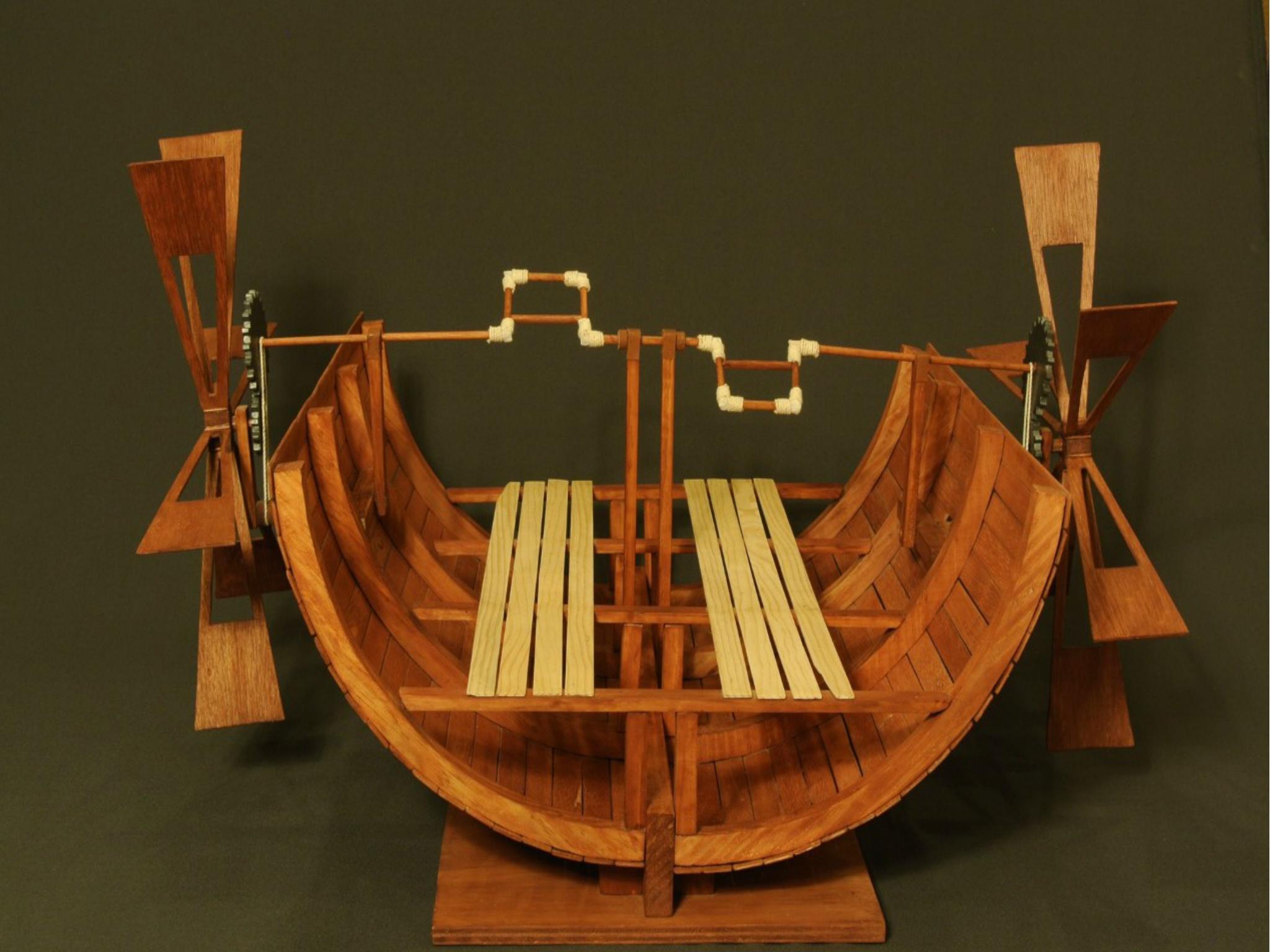 Foto de la exposicón Los inventos de Leonardo Da Vinci