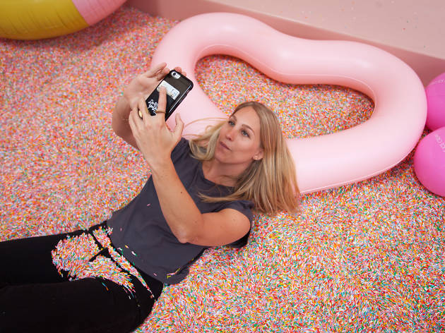 Dive into a pool of sprinkles at the Museum of Ice Cream Los Angeles