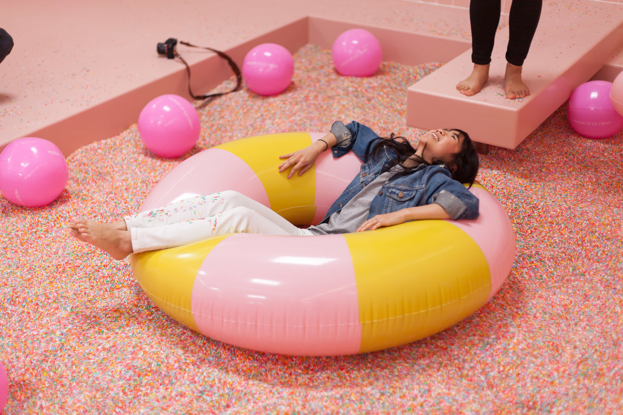 Dive Into A Pool Of Sprinkles At The Museum Of Ice Cream