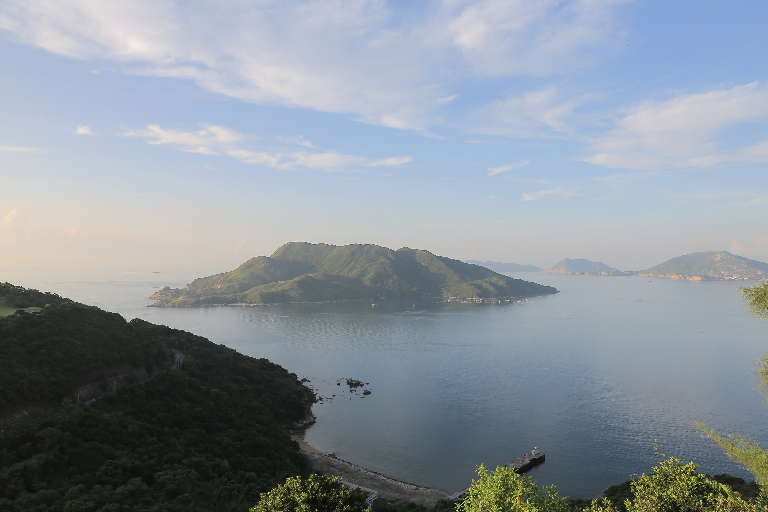 Secret islands in Hong Kong