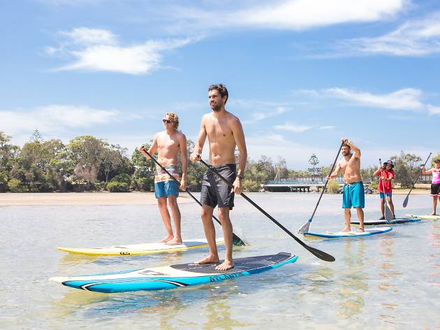 Clark Webb, stand up paddle board operator, Coffs Coast