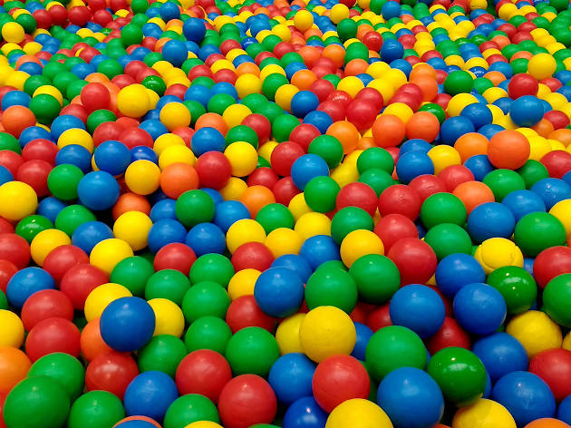 Get balls deep at the UK's biggest adult ball pool