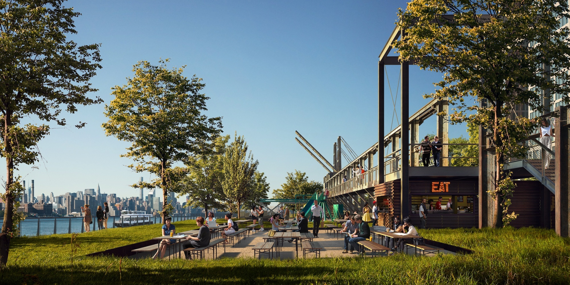 First look at the new waterfront park coming to Williamsburg