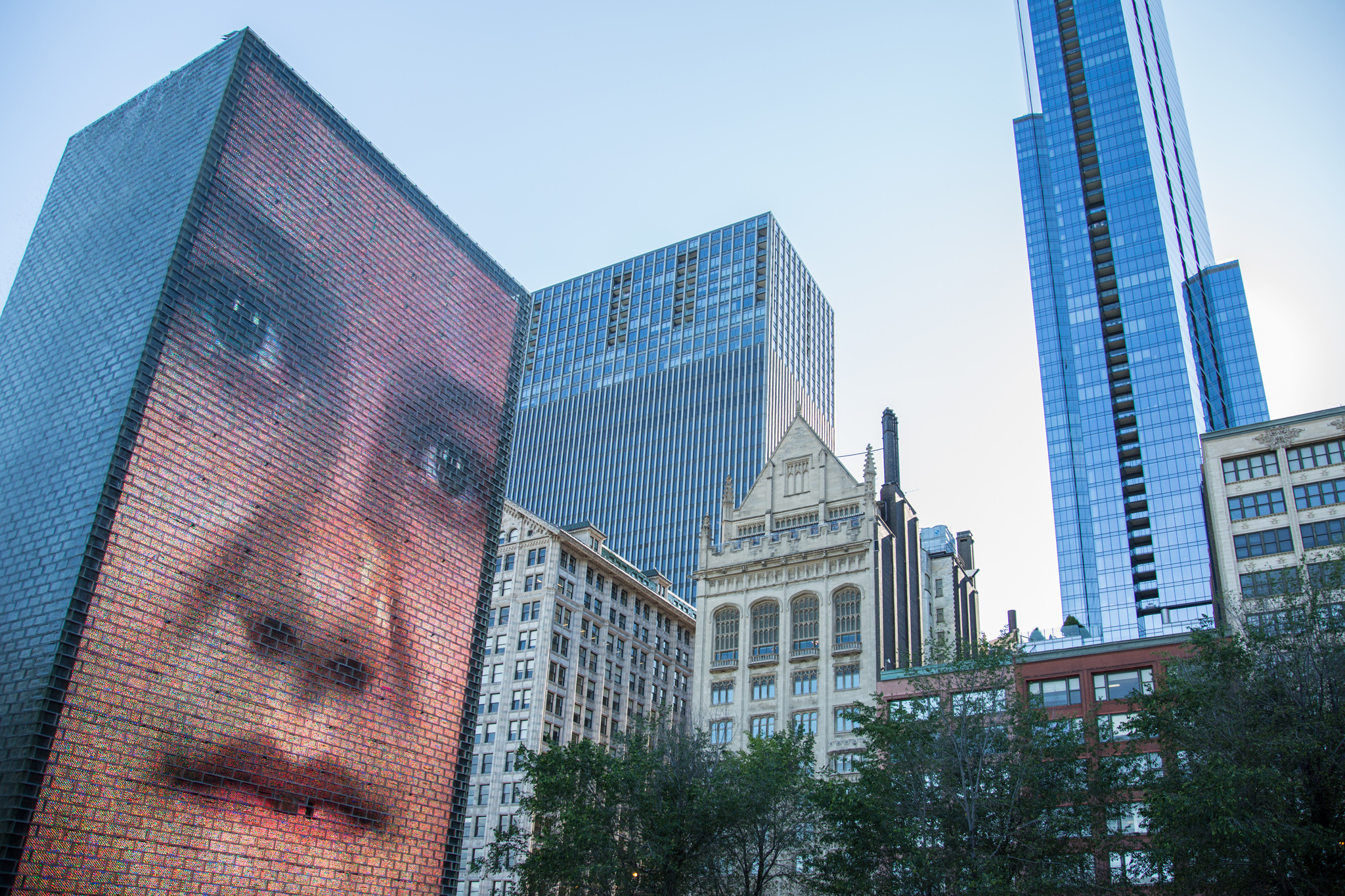 Crown Fountain reopens on Saturday with enhanced LED displays