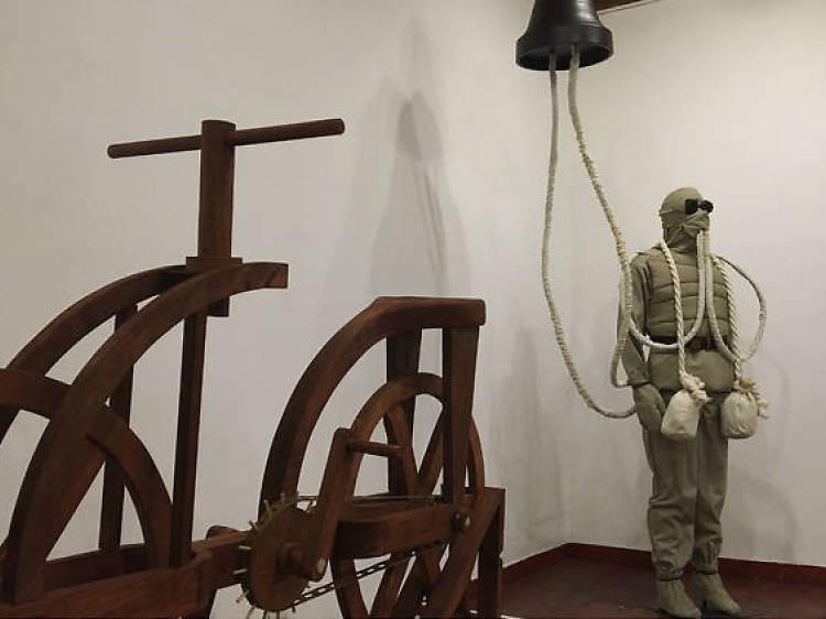 Los inventos de Leonardo Da Vinci (Museo del Palacio de Bellas Artes)