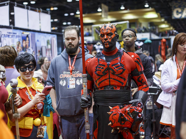 Photos from C2E2 Chicago Comic and Entertainment Expo 2017