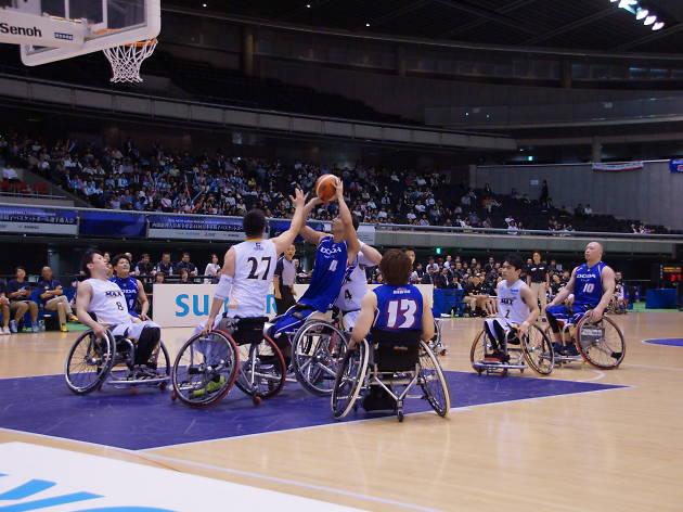内閣総理大臣杯争奪 第45回記念日本車椅子バスケットボール選手権大会