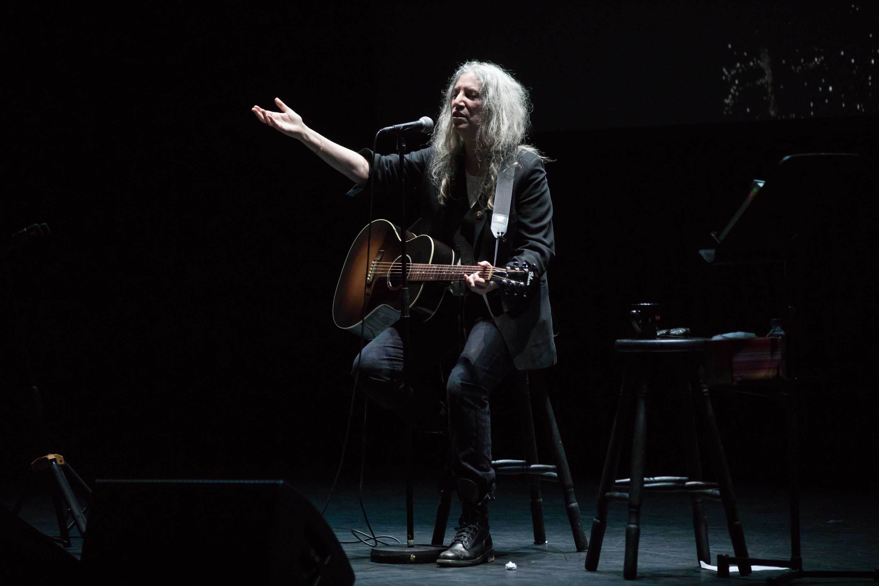 We watched Patti Smith say goodbye to Australia last night, and had a lot of feelings