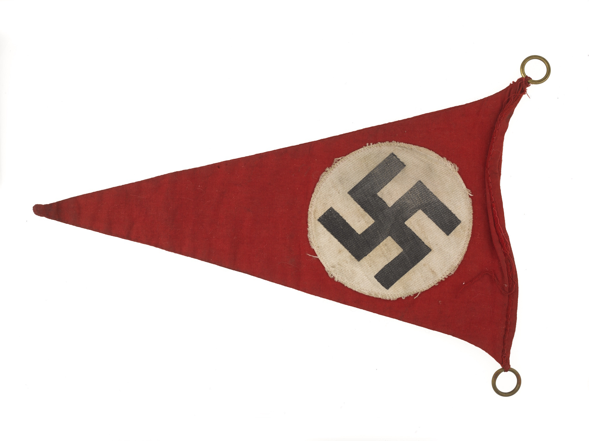 Nazi car pennant, 1945, from Insight Gallery at the National Army Museum, London
