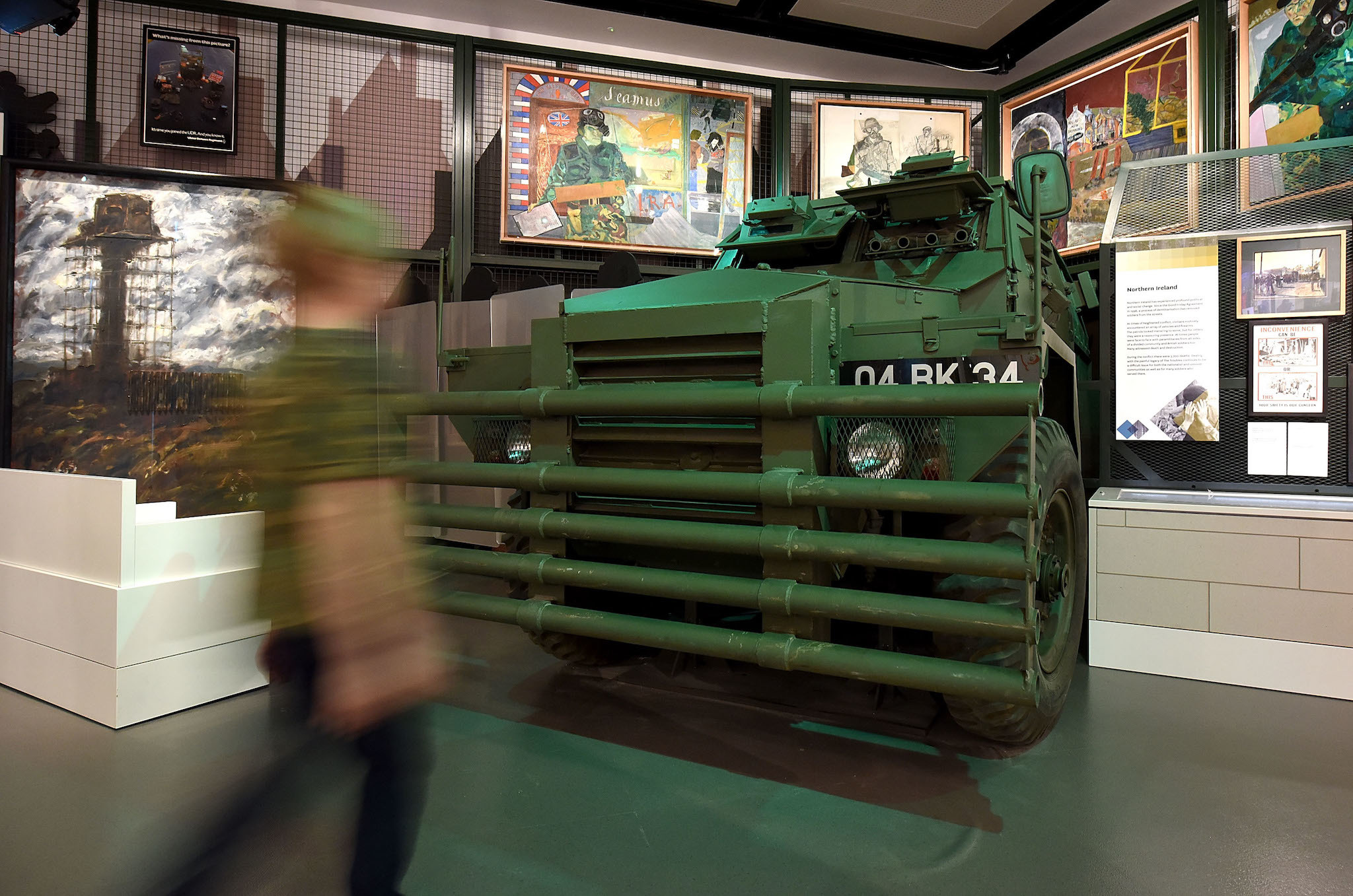 Humber, 'Pig', Society Gallery, National Army Museum, London