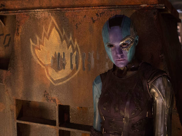Karen Gillan in 'Guardians of the Galaxy Vol 2'
