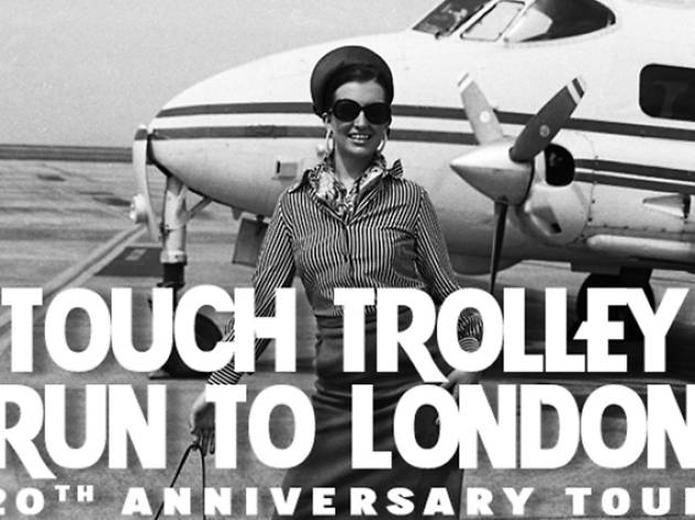 'Pam Ann: Touch Trolley Run to Galley' at Leicester Square Theatre