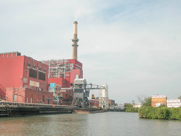 A riverfront park could occupy the former Fisk coal plant site