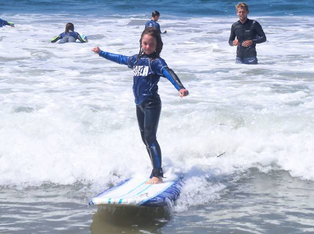 Learn to Surf L.A.