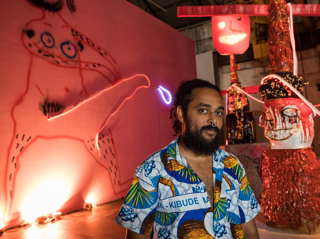 Ramesh Mario Nithiyendran at Carriageworks