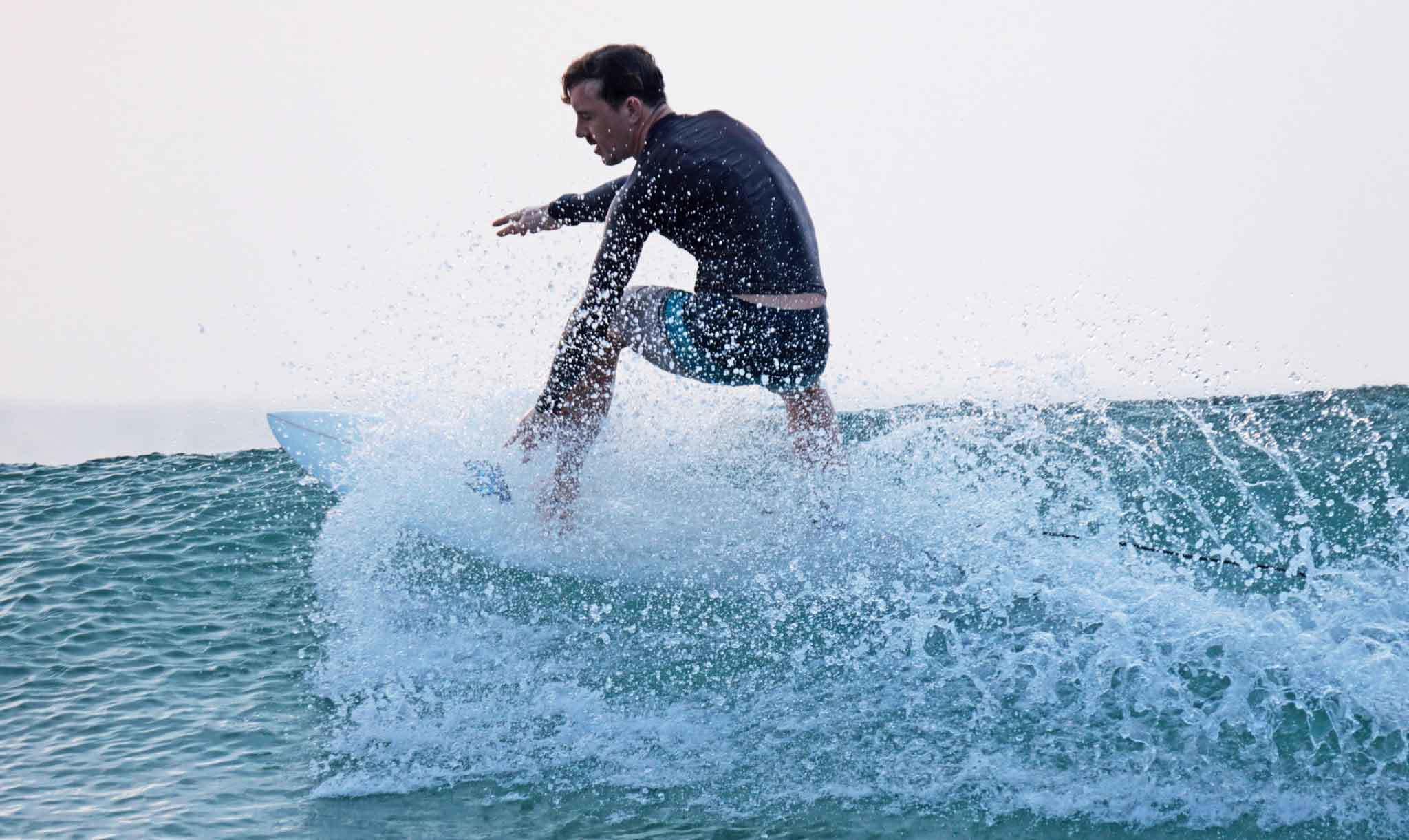 Surf's up, so surf on Eastwards