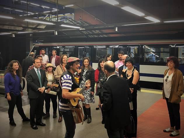 Microteatro metro Madrid
