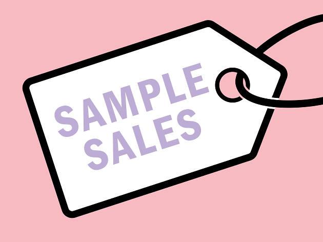 Sample sales in London
