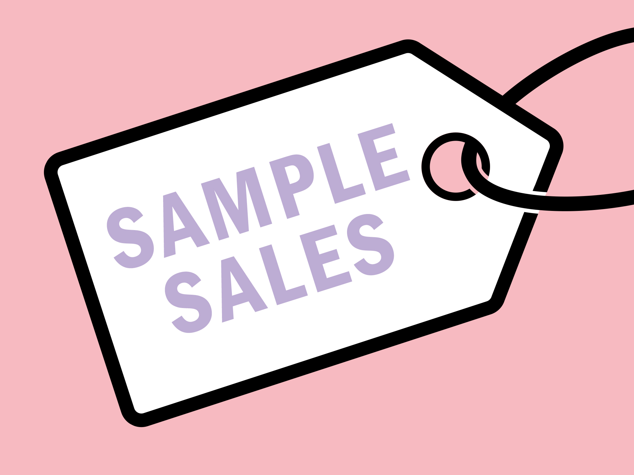 Sample sales in London