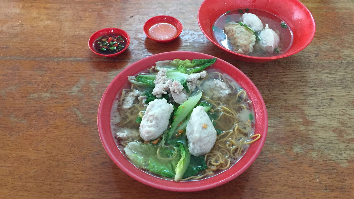 Pork noodles in PJ old town, from RM6