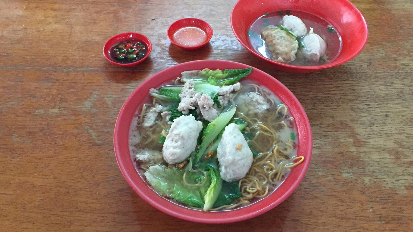 Pork noodles in a house - Jalan Pasar 1/21, PJ