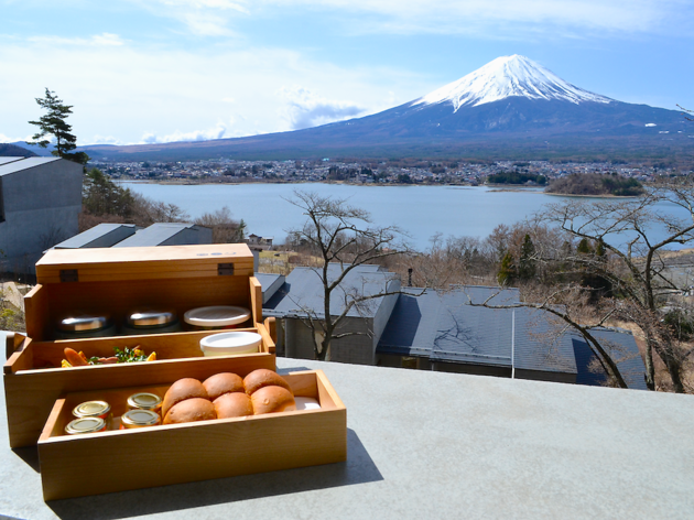 Head out to the foot of Mt Fuji for a luxurious getaway