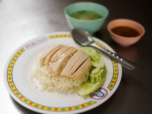 Best chicken rice in Bangkok