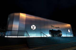 Louis Vuitton Time Capsule exhibition exterior