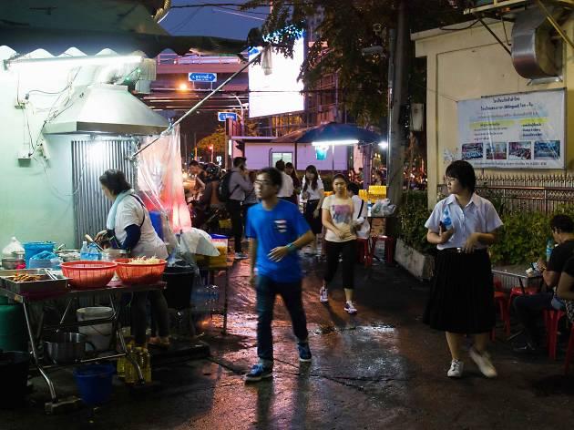 pad thai goong sod nai sa nga