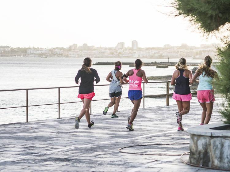 Ponha-se à fresca: treine ao ar livre em Lisboa