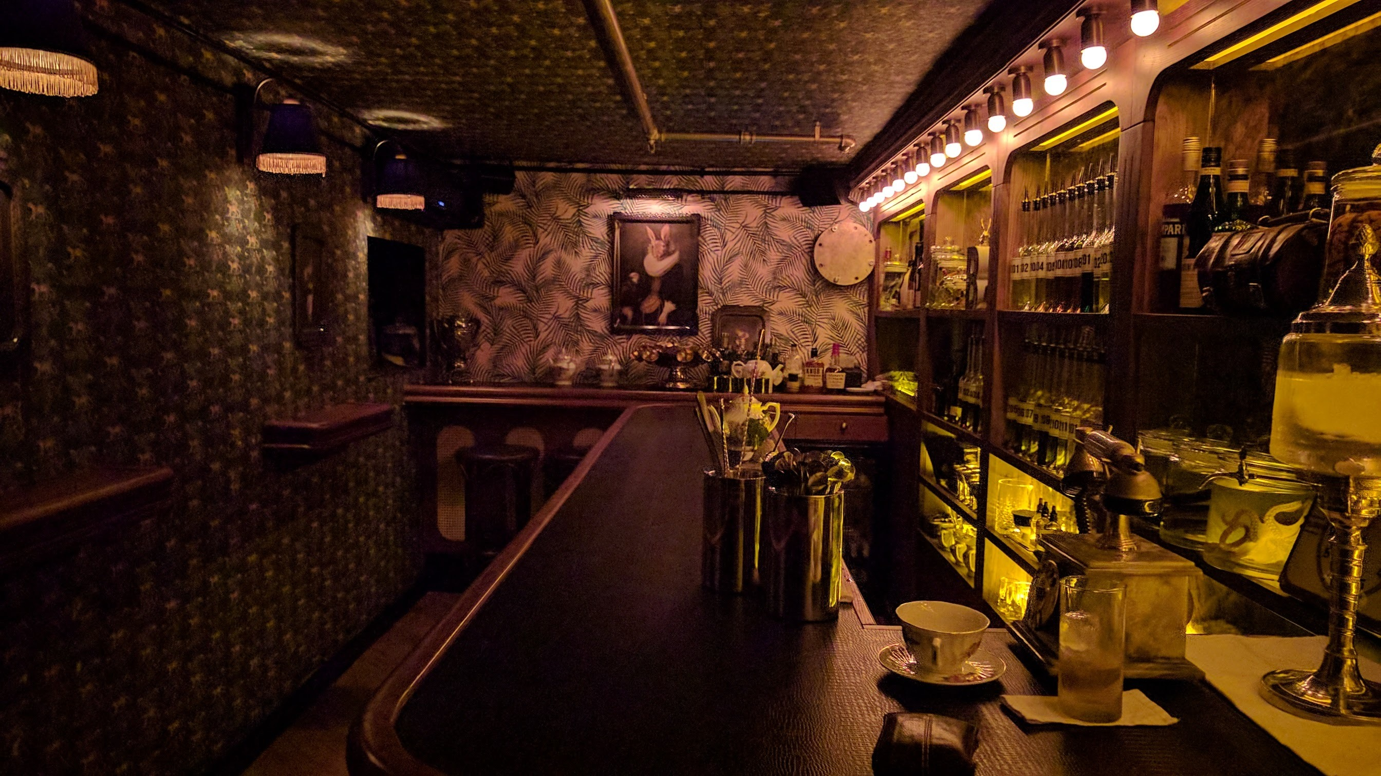 Ariel Leizgold unveils his newest cocktail bar creation: Butler - a Wes Anderson meets Charles Dickens meets Jekyll and Hyde masterpiece