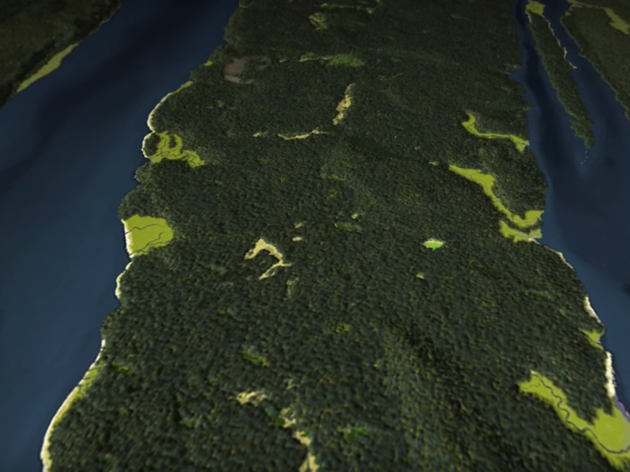 Here's what NYC looked like 400 years ago as a massive green park