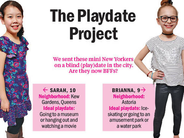 The Playdate Project: Sarah and Brianna
